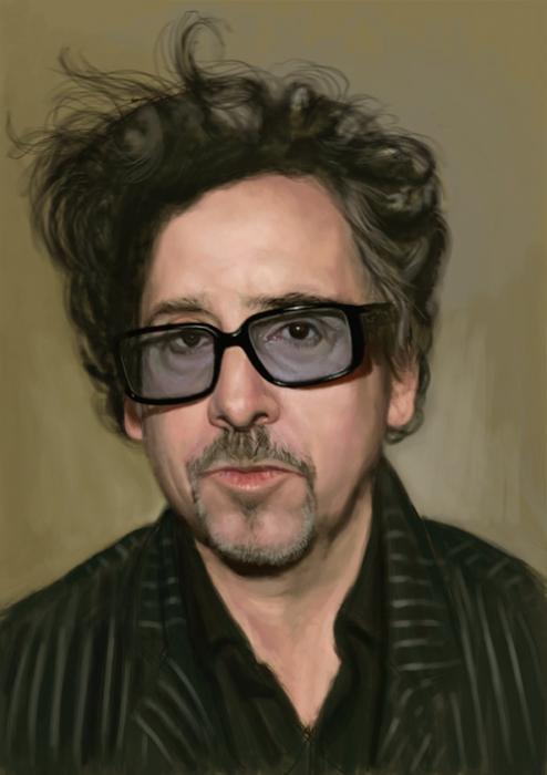 Tim Burton por Hellbay